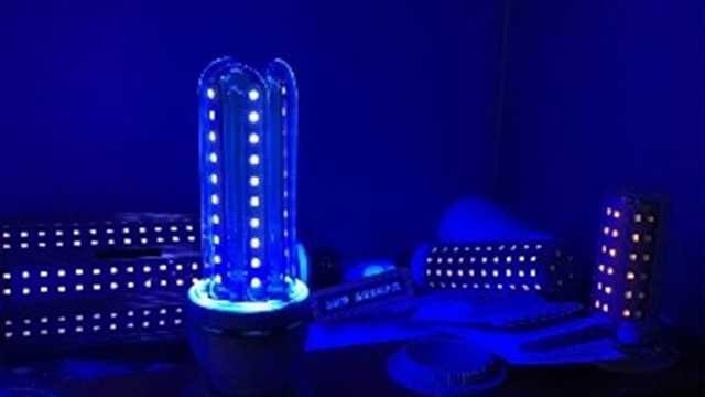 UVA LED lamp 365nm 11W E27