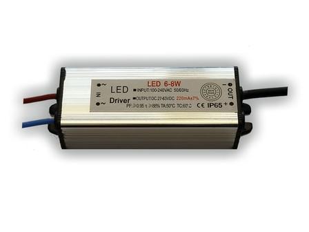 LED driver 220mA, 27-63V, 6 - 8 Watt
