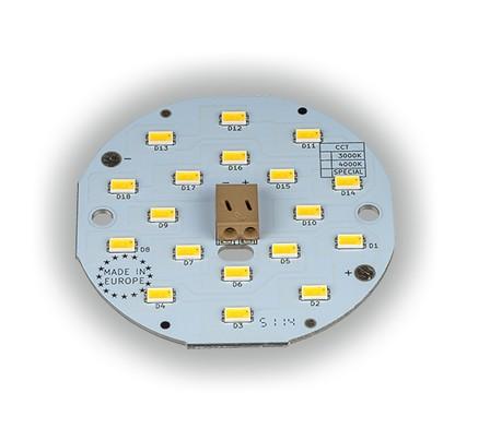LED ombouwset rond 8,5 W 6,5 cm 4000k