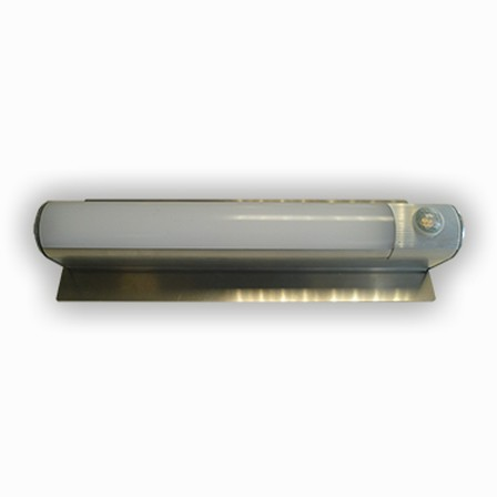 Portieklamp aluminium met bewegingssensor