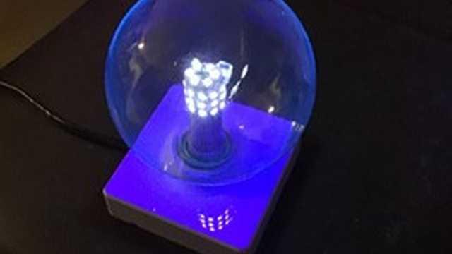 UVA LED lamp 365nm 7W E27