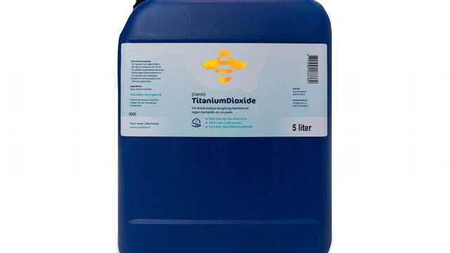 Titanium dioxide nano navulling 5 liter