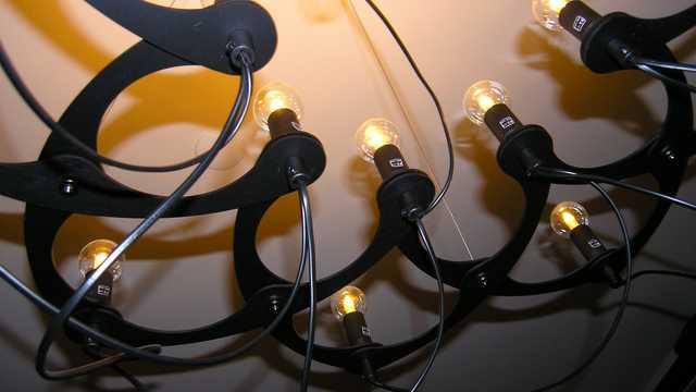Design kroonluchter vraagt om passende LED lampen