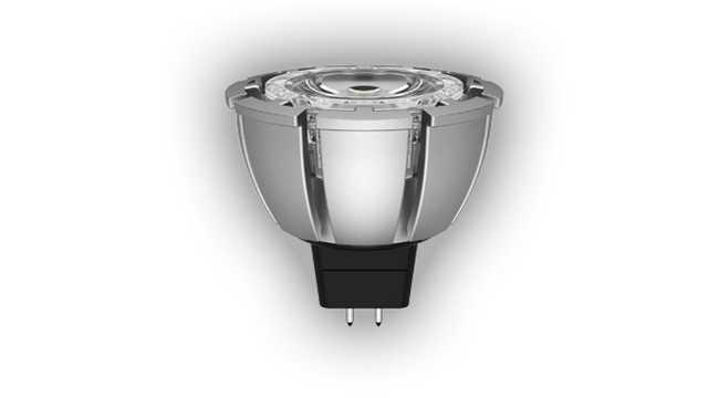 MR16 LED spot 7W 12V 3000k dimbaar GU5.3 fitting