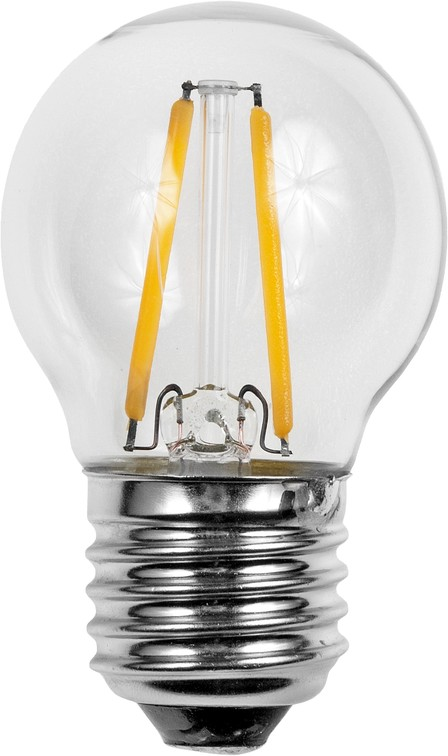 E14 Bulb Filament LED lamp 2W (smalle fitting)