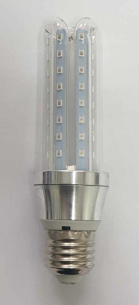Ruimtes desinfecteren met UVA licht +TIO2 coating
