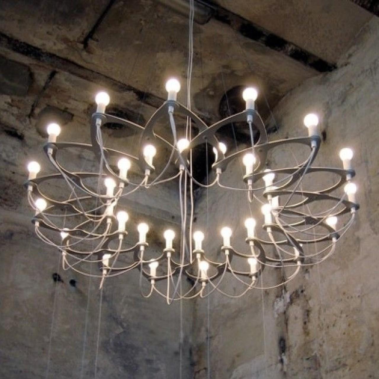 design kroonluchter vraagt om passende led lampen led