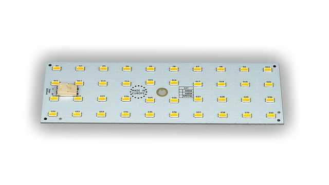 LED ombouwset paneel 150 x 50 mm, 3000, 4000, 5000 Kelvin max 18,5 Watt