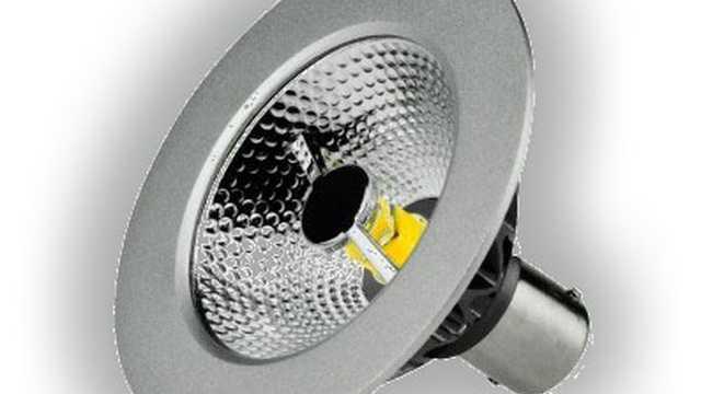 AR70 LED spot 7W 12V 2700k bajonet dimbaar