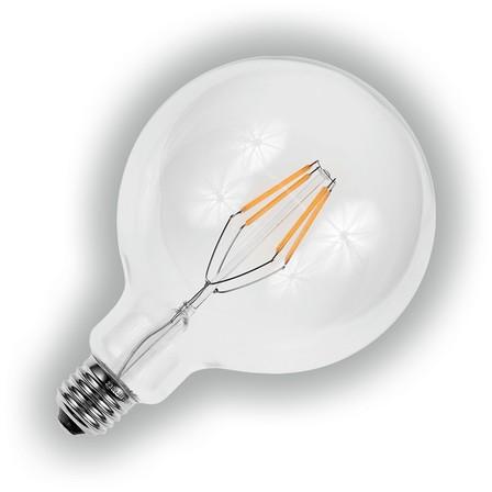 LED-filament lamp Globe rond 125 mm, 2200K, E27 fitting