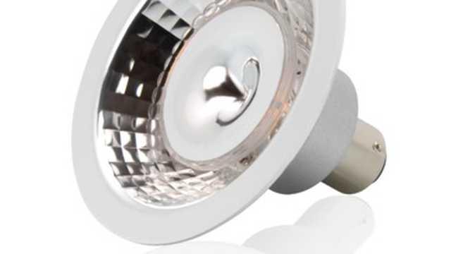 AR70 LED spot,7W 12Volt 2700K bajonet dimbaar budget uitvoering