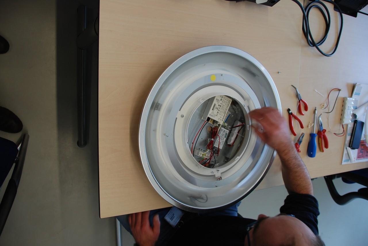 Philips Lampen Armaturen : Ombouwset voor philips rotaris led verlichting yellowbee nederland