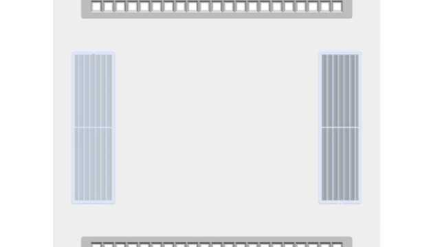 Luchtreinigend inleg LED-paneel