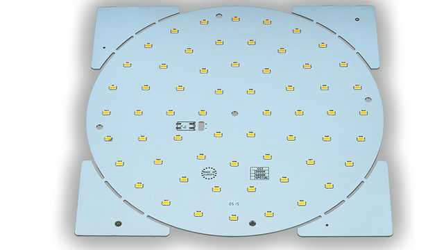 LED ombouwset schijf rond 200 mm, 3000, 4000, 5000 Kelvin max 28 Watt