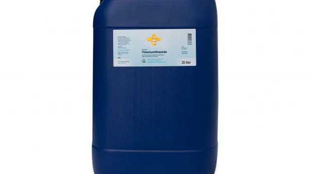 Titanium dioxide nano navulling 25 liter