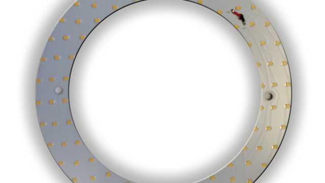 LED ombouwset rond 18W 20cm 4000k