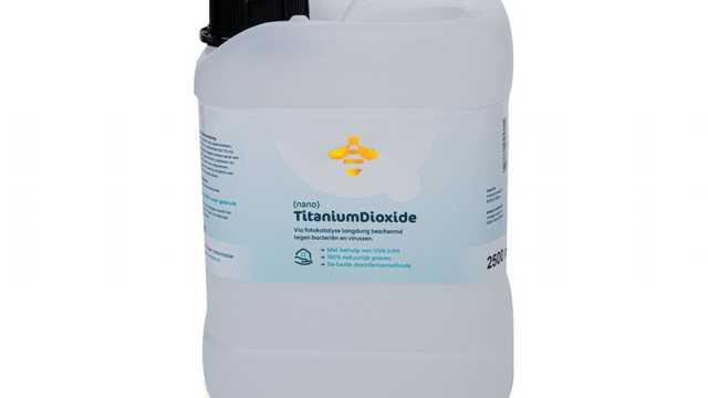 Titanium dioxide nano navulling 2,5 liter