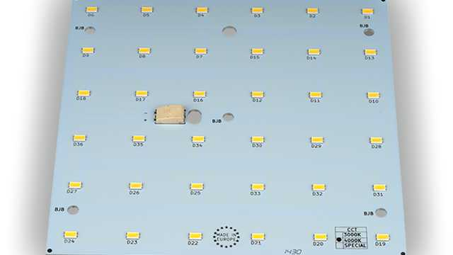 LED ombouwset paneel vierkant 150 mm 3000k, 4000k, 5000k, max 18Watt