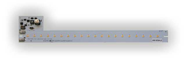LED ombouwstrip 3W 420 lumen 3000K 230V