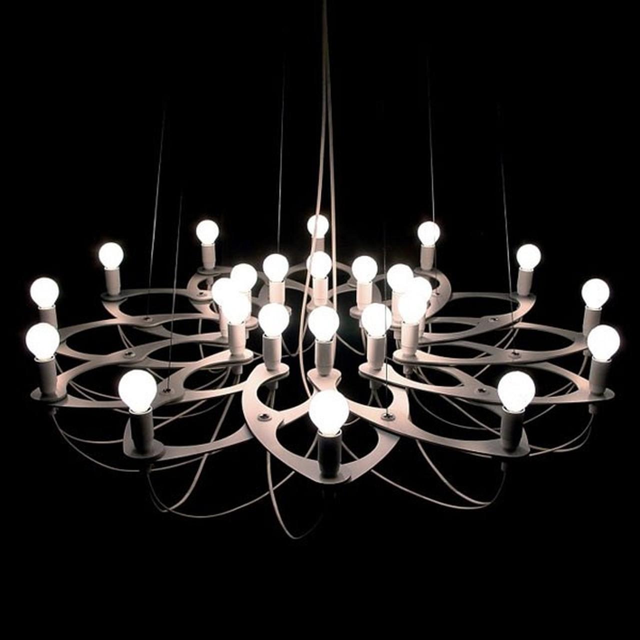 Design kroonluchter vraagt om passende LED lampen | LED ...