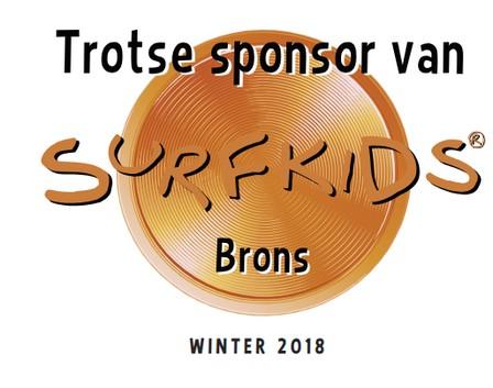YellowBee is trotse sponsor van SurfKids