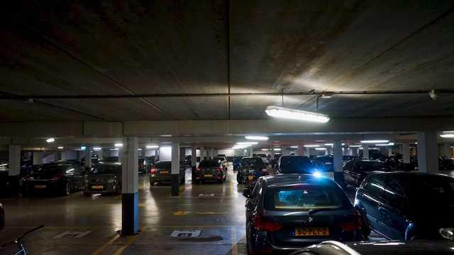 LED-verlichting en domotica in parkeergarages bij woongebouwen zorgen voor besparingen en gevoel van veiligheid