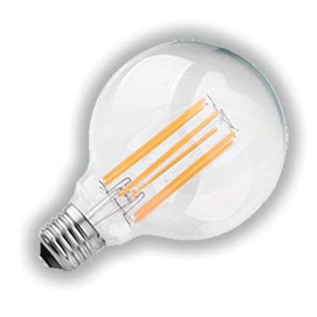 LED-filament lamp Globe rond 95 mm, 2200K, E27 fitting