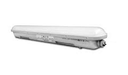 IP65 LED armatuur opbouw lengtes: 60cm, 120cm en 150cm; 24W, 36W, 50W (120Lm/W)