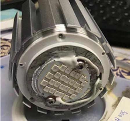 UVA LED lamp 365nm 12W E27