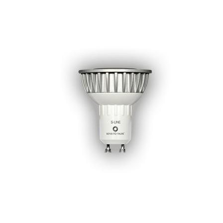 MR16  LED spot 6W 230V 3000k dimbaar GU10 fitting