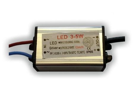 LED driver 120mA, 27-63V, 3 - 5 Watt